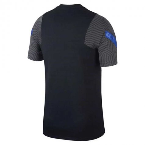 2020-2021 Holland Nike Training Shirt (Black) (KLUIVERT 9)