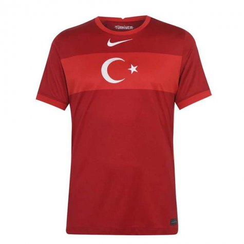 2020-2021 Turkey Away Nike Football Shirt (RUSTU 1)