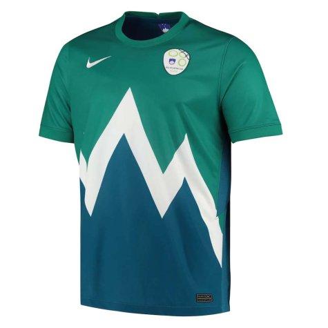 2020-2021 Slovenia Away Nike Football Shirt (ILICIC 7)