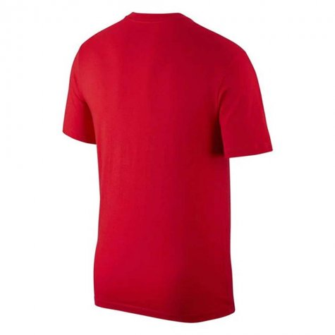 2020-2021 Portugal Nike Evergreen Crest Tee (Red)