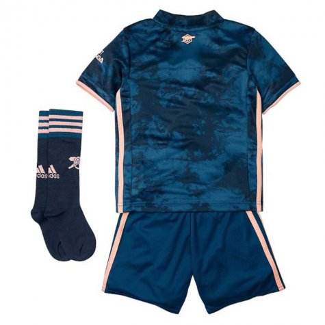 2020-2021 Arsenal Third Little Boys Mini Kit (S.CAZORLA 19)