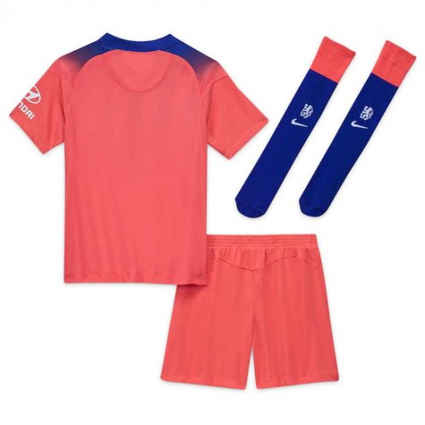 2020-2021 Chelsea Third Nike Little Boys Mini Kit (ZIYECH 22)