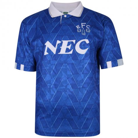 Everton 1990 Home Retro Football Shirt (COLEMAN 23)