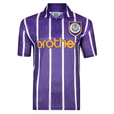 Manchester City 1994 Anniversary Third Retro Shirt (SILVA 21)