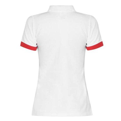 England 2021 Core Polo Shirt (White) - Ladies
