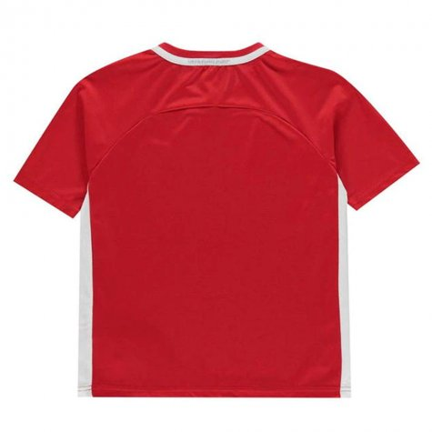 England 2021 Polyester T-Shirt (Red) - Kids