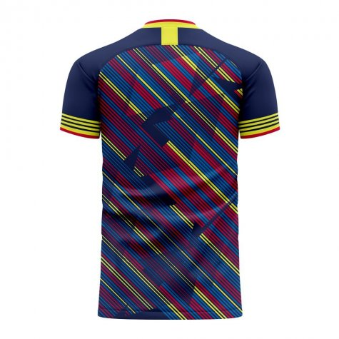 Colombia 2020-2021 Third Concept Football Kit (Libero)