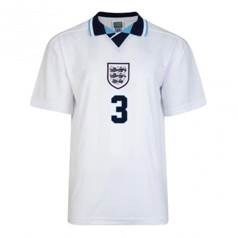 Score Draw England Euro 1996 Home Shirt (Pearce 3)