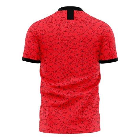 Albania 2020-2021 Home Concept Football Kit (Libero) - Kids