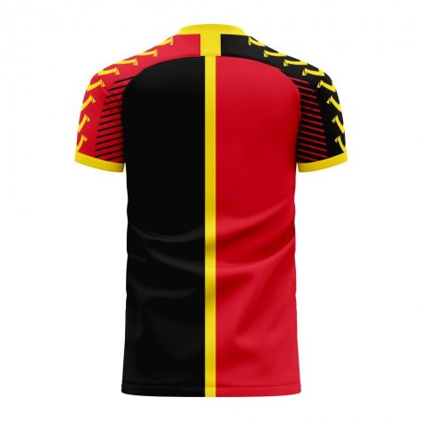 Angola 2020-2021 Home Concept Football Kit (Viper) - Kids