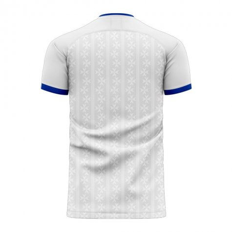 Auxerre 2020-2021 Home Concept Football Kit (Airo) - Womens