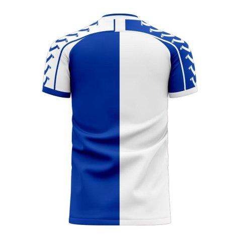 Blackburn 2020-2021 Home Concept Football Kit (Viper)
