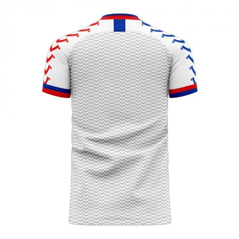 Chile 2020-2021 Away Concept Football Kit (Viper)