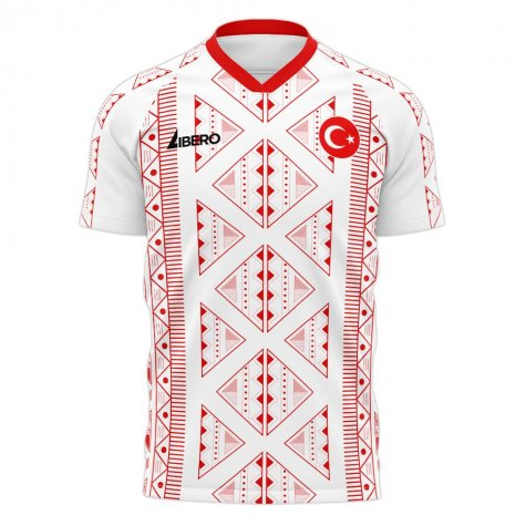 Turkey 2020-2021 Away Concept Football Kit (Libero) (RUSTU 1)