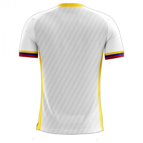 Colombia 2020-2021 Away Concept Football Kit (Libero) - Womens