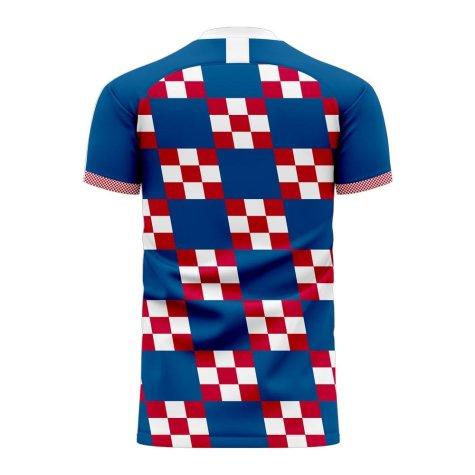 Croatia 2020-2021 Away Concept Football Kit (Libero) - Womens