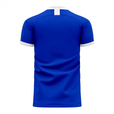 El Salvador 2020-2021 Home Concept Football Kit (Libero) - Kids