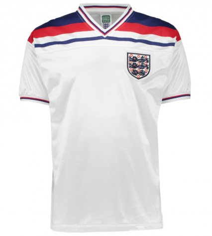 Score Draw England World Cup 1982 Home Shirt (Mariner 11)