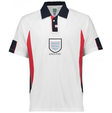 Score Draw England World Cup 1998 Home Shirt (Owen 20)