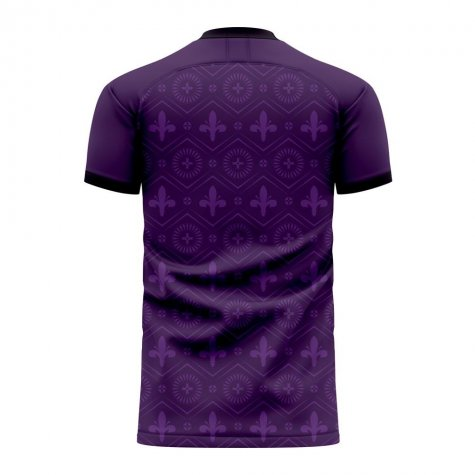Fiorentina 2020-2021 Home Concept Football Kit (Libero) - Baby