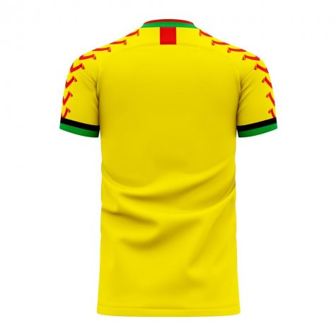 Guyana 2020-2021 Home Concept Football Kit (Viper) - Womens