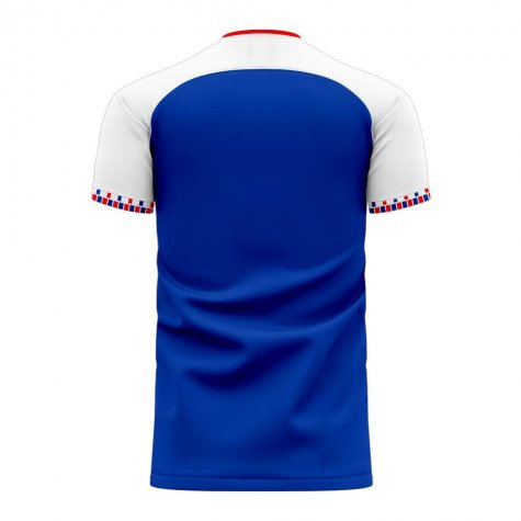 Iceland 2020-2021 Home Concept Football Kit (Libero) - Kids