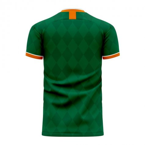 Ireland 2020-2021 Classic Concept Football Kit (Libero) - Womens