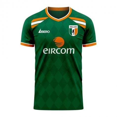 Ireland 2020-2021 Classic Concept Football Kit (Libero) (HENDRICK 13)