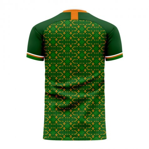 Ireland 2020-2021 Home Concept Football Kit (Libero) - Womens