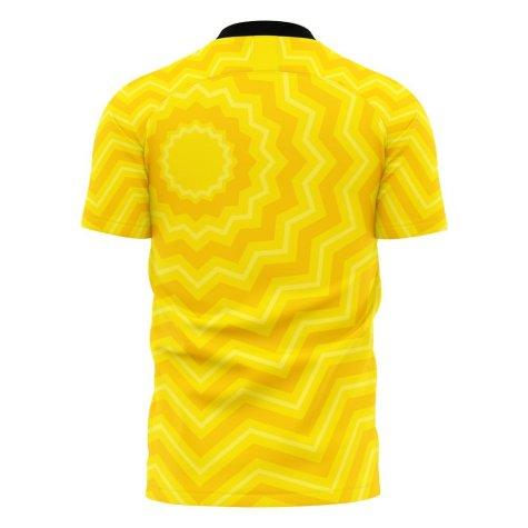 Al-Ittihad 2021-2022 Home Concept Football Kit (Libero) - Baby