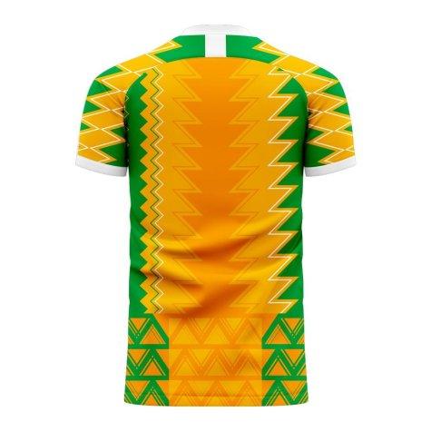 Ivory Coast 2020-2021 Home Concept Football Kit (Libero) (KESSIE 8)