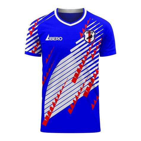 Japan 2020-2021 Home Concept Football Kit (Libero) (NAKAMURA 10)