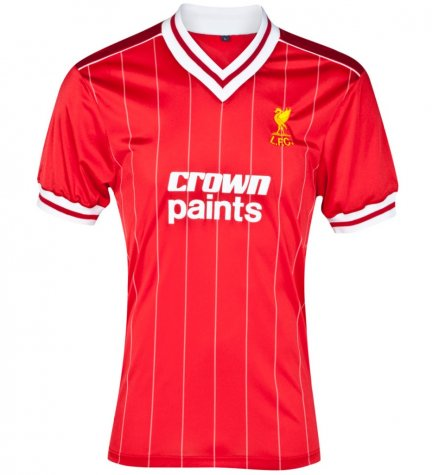 Score Draw Liverpool 1982 Home Shirt (Dalglish 7)