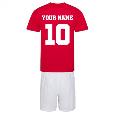 Personalised Liverpool Training Kit Package
