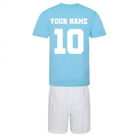 Personalised City of Manchester Training Kit Package