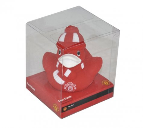 Manchester United Vinyl Bath Time Duck
