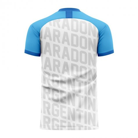 Diego Maradona Exclusive Concept Shirt (White) - Kids