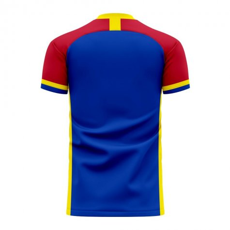 Moldova 2020-2021 Home Concept Football Kit (Libero) - Womens