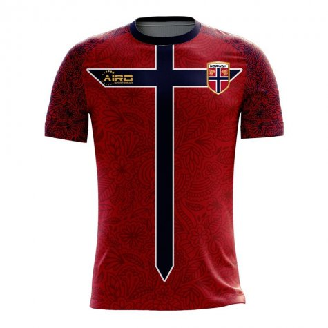 Norway 2020-2021 Home Concept Football Kit (Airo) (BERGE 15)