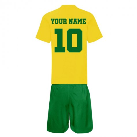 Personalised Norwich Training Kit Package