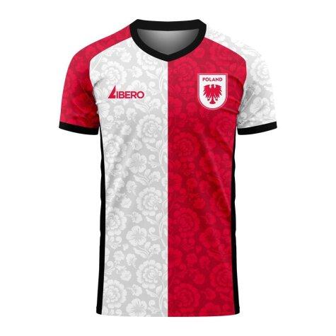 Poland 2020-2021 Away Concept Football Kit (Libero) (PISZCZEK 20)