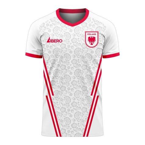 Poland 2020-2021 Home Concept Football Kit (Libero) (PISZCZEK 20)