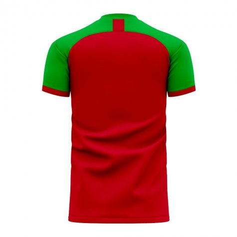 Portugal 2020-2021 Home Concept Football Kit (Fans Culture) - Womens