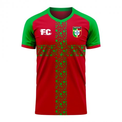 Portugal 2020-2021 Home Concept Football Kit (Fans Culture) (CARVALHO 14)