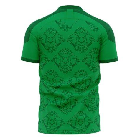 Raja Casablanca 2020-2021 Home Concept Football Kit (Libero) - Little Boys