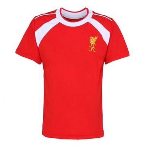 Official Liverpool Training T-Shirt (Red) (Benteke 9)
