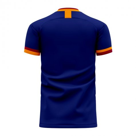 Roma 2020-2021 Third Concept Football Kit (Libero) - Kids