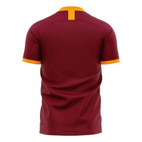 Roma 2020-2021 Home Concept Football Kit (Libero) - Baby
