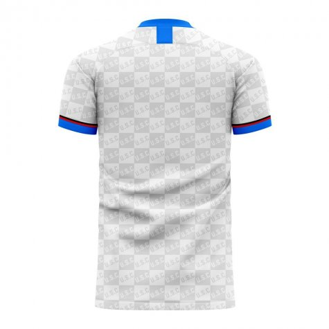 Sampdoria 2020-2021 Away Concept Football Kit (Airo)
