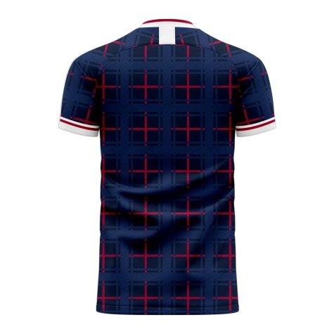 Scotland 2020-2021 Home Concept Shirt (Fans Culture) - Kids